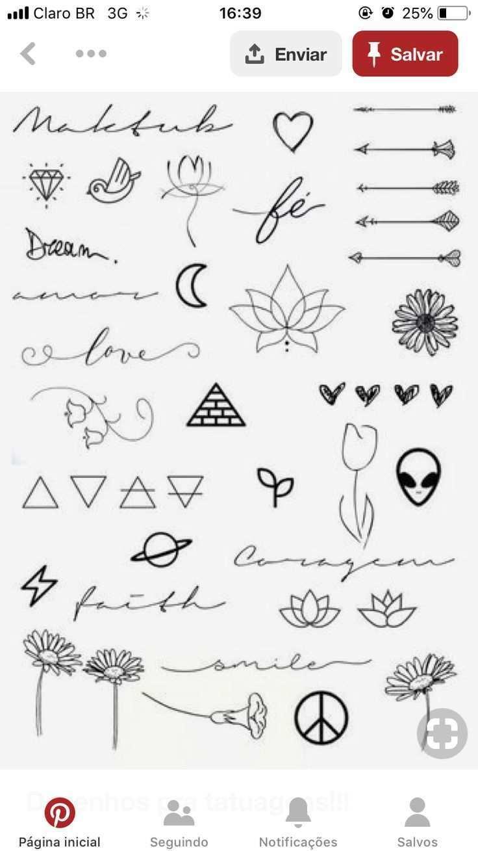 Pin Von Marie Rohr Auf Pequeno Tattoo Ideen Kleine Tattoo Ideen Tattoo Ideen Klein