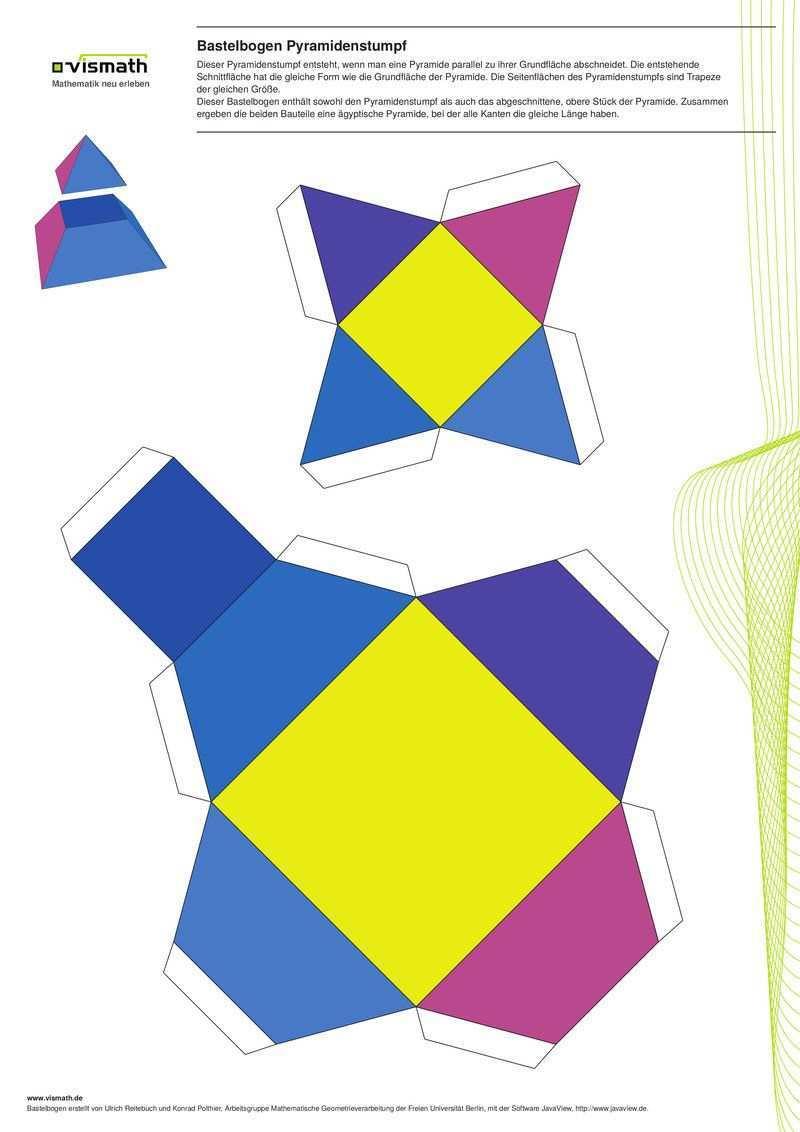 Set Kinderleicht Vismath Papier Falttechniken Kinderleicht Geometrische Korper