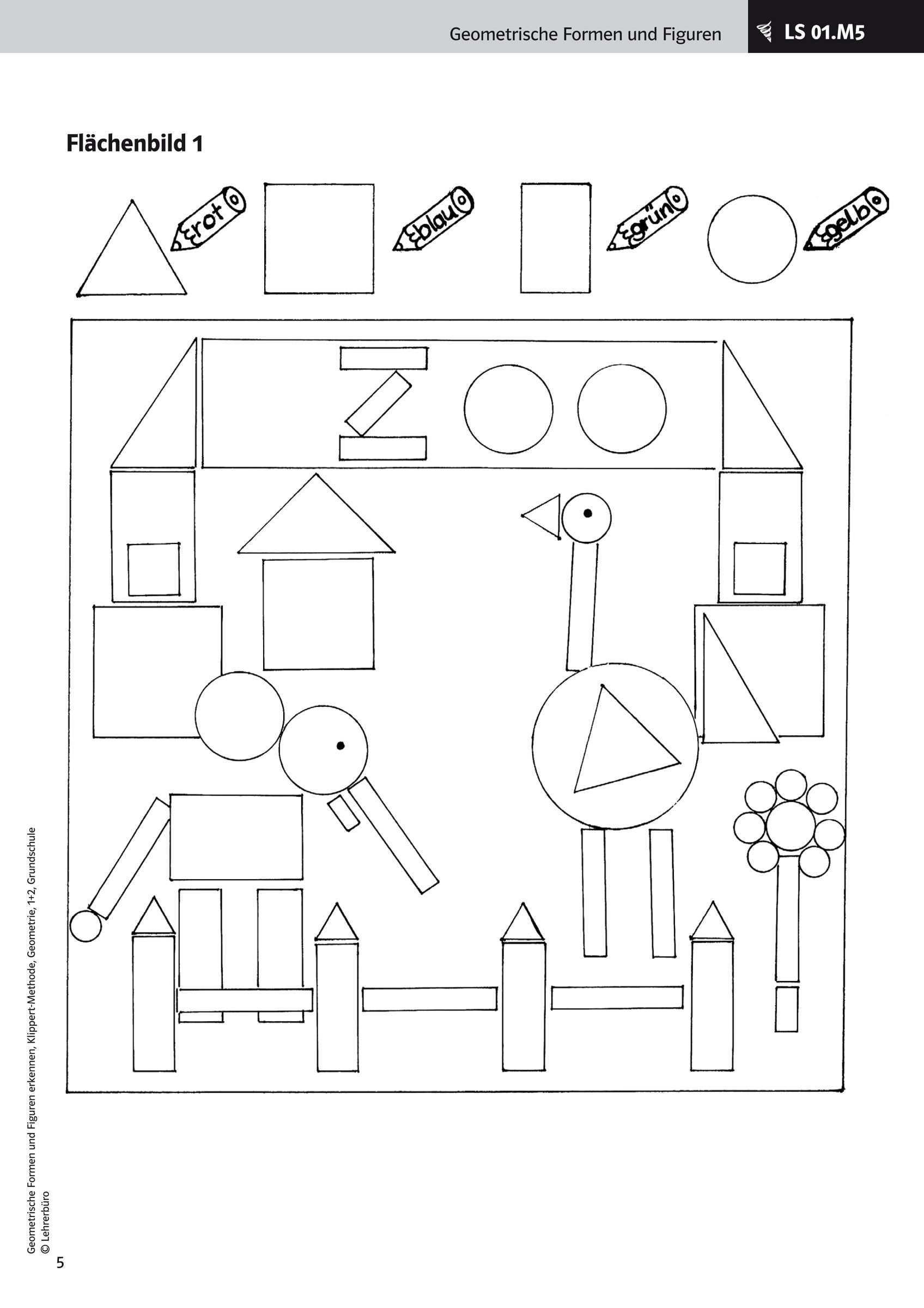 Bildergebnis Fur Geometrische Formen 1 Klasse Arbeitsblatter Arbeitsblatter Grundschule Formen Vorschule Arbeitsblatter