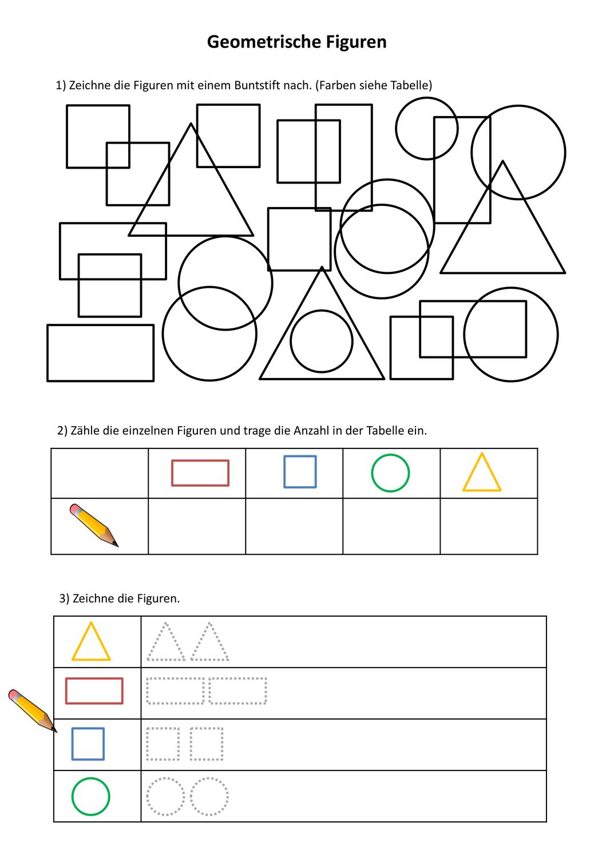 Geometrische Figuren Unterrichtsmaterial Im Fach Mathematik Geometrische Figuren Geometrisch Lernheft