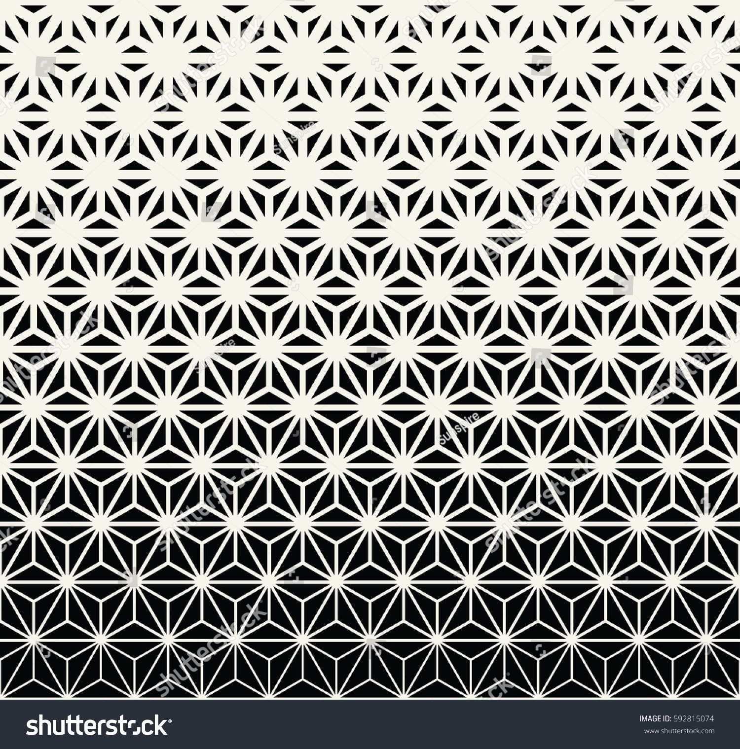 Sacred Geometry Halftone Triangle Graphic Pattern Print Vektorgrafik Geometrie Geometrie Tattoo