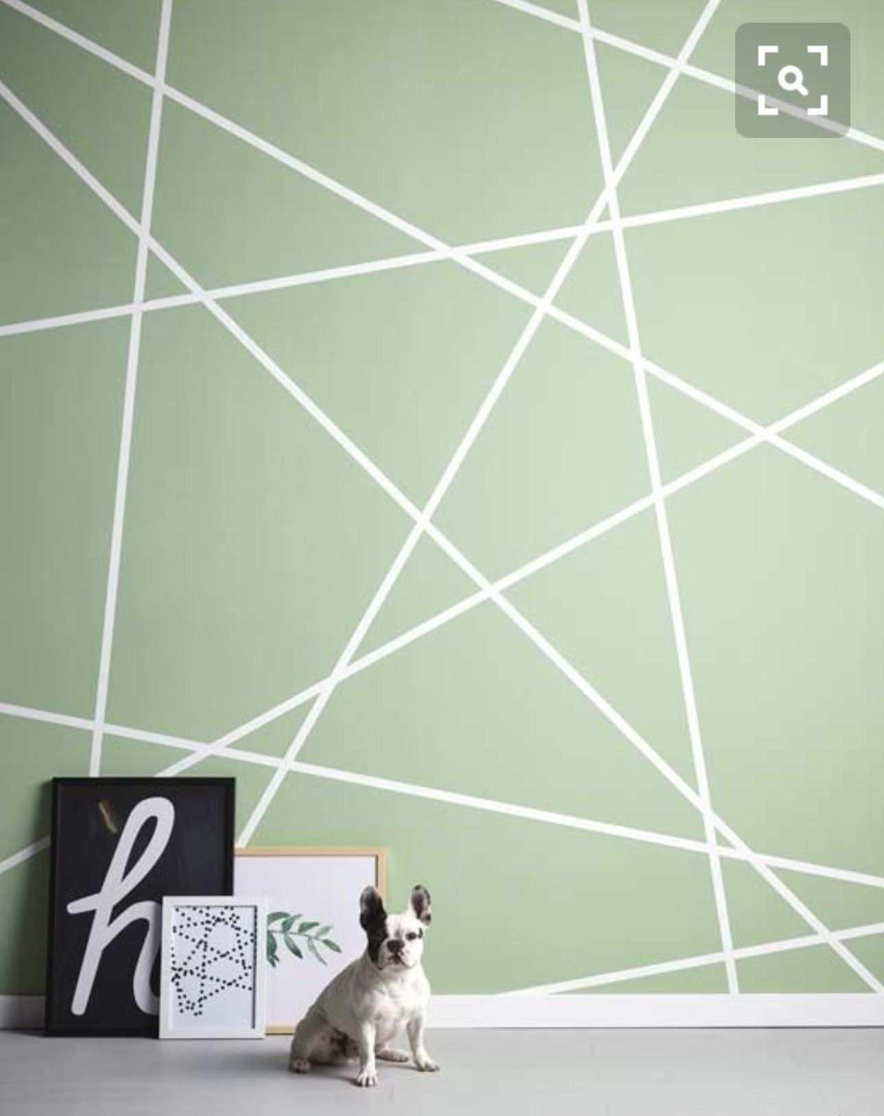 Geometrische Wand Geometrische Wand Schlafzimmer Wand Designs Wandgestaltung Wohnzimmer Farbe