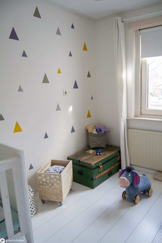 Diy Perfekte Geometrische Wandmuster Malen Babyzimmer Wandgestaltung Wandmuster Wandgestaltung