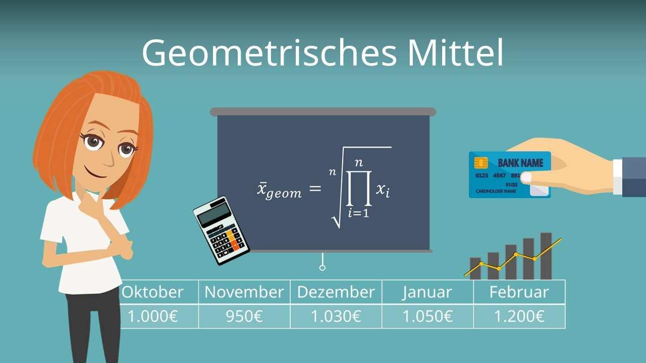 Geometrisches Mittel Einfach Erklart Fur Dein Studium Mit Video