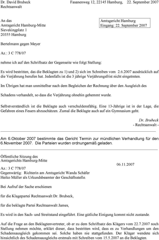 Dr Philipp Hammerich Rechtsanwalt Aktenvortrag Nr 51 Zivilrecht Sachverhalt Bearbeitungszeit 1 5 Std Pdf Free Download