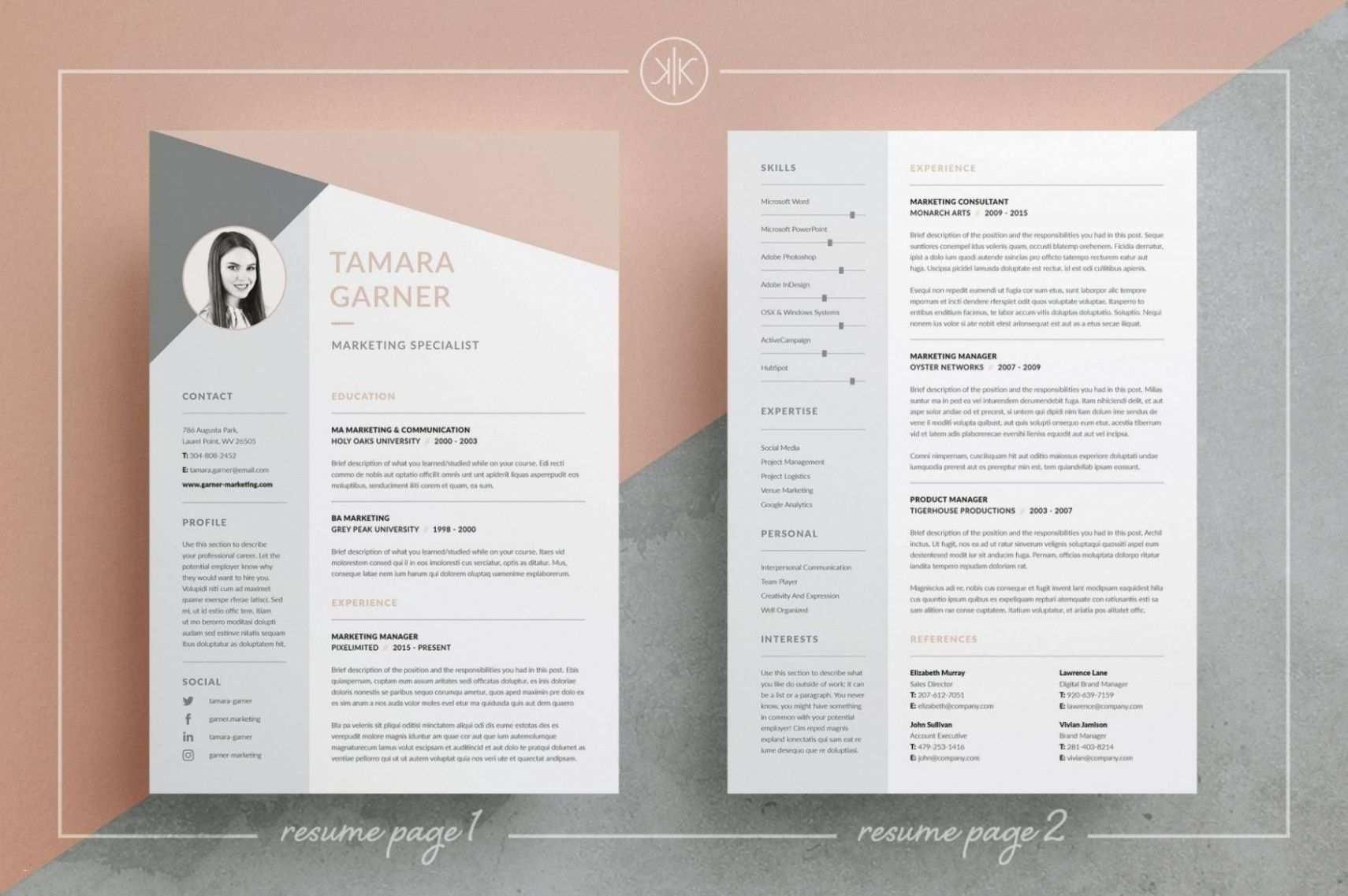 Lebenslauf Kreativ Vorlage Word Lebenslauf Design Lebenslauf Design Vorlage Vorlagen Lebenslauf