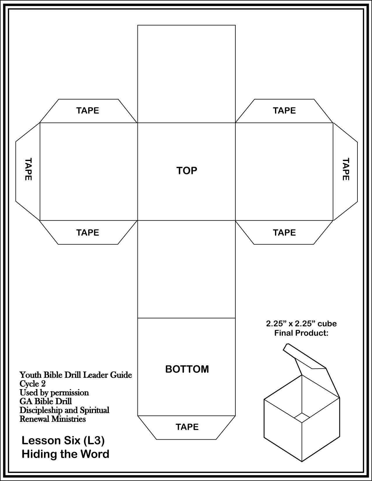Printable Cardstock Template Schachtelvorlage Geschenkbox Basteln Adventskalender Selber Basteln