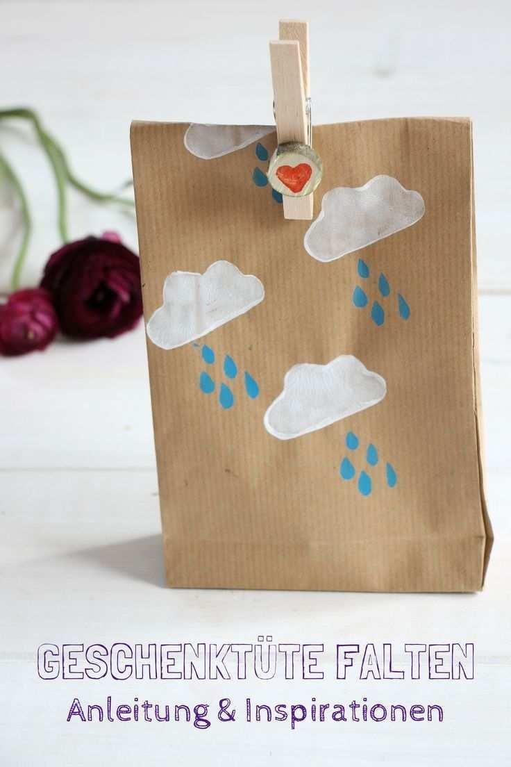 Basteln Mit Wascheklammern Ideen Fur Dekoklammern Und Selbstgemachte Geschenktuten Lavendelblog Geschenktute Basteln Papiertuten Selber Basteln Selbstgemachte Geschenktuten
