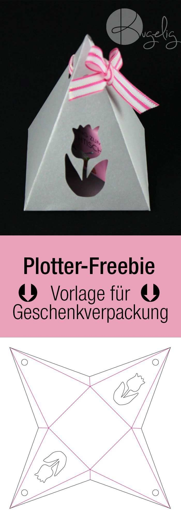 Pyramiden Geschenkverpackung Basteln Plotterfreebie Kugelig Com Geschenkverpackung Basteln Geschenkbox Basteln Vorlage Geschenkbox Basteln