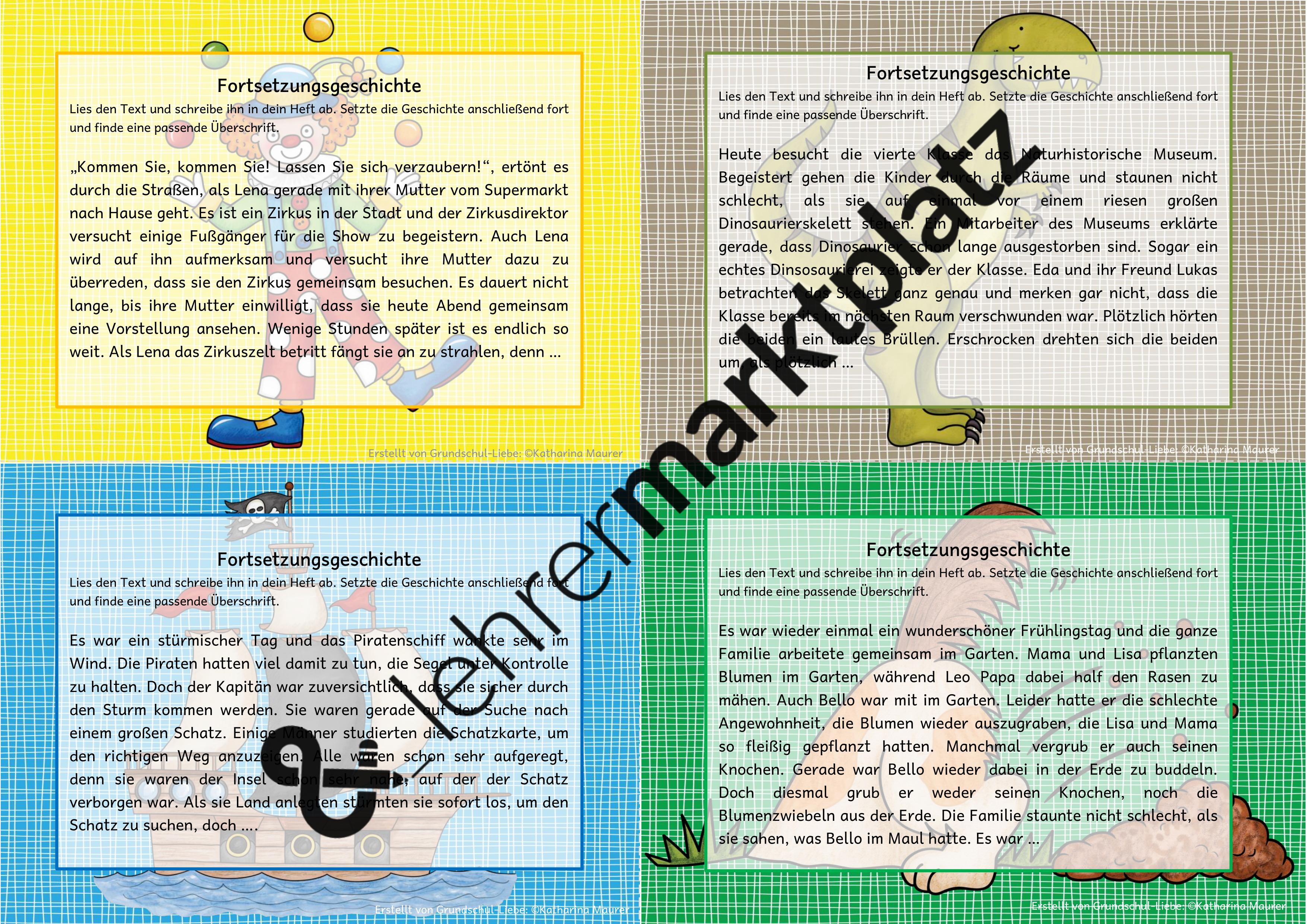 Fortsetzungsgeschichten Kartei 8 Geschichtenanfange Zum Texte Verfassen Unterrichtsmaterial Im Fach Deutsch In 2020 Kinder Lesen Unterrichtsmaterial Kartei