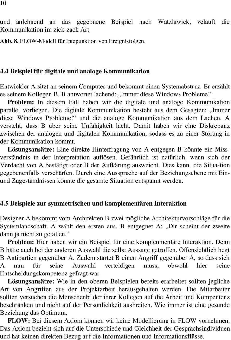 Kommunikationstheorie Nach Watzlawick Und Ihre Anwendung In Softwareprojekten Pdf Free Download