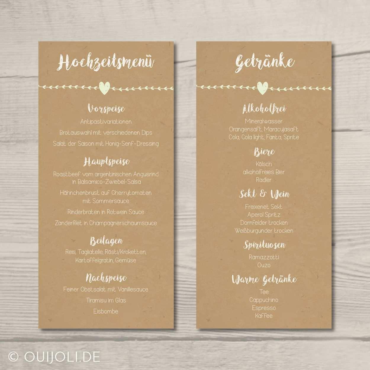 Home Traustube Menukarten Hochzeit Getrankekarte Hochzeit Getranke Karte Hochzeit
