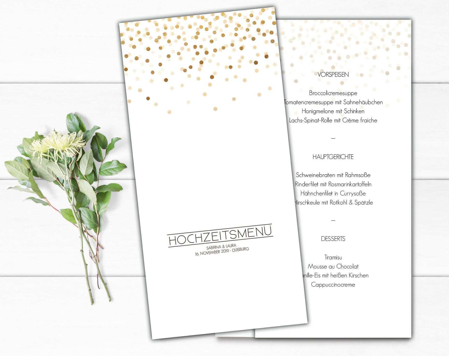 Menukarte Hochzeit Getrankekarte Hochzeit Buffetkarte Etsy