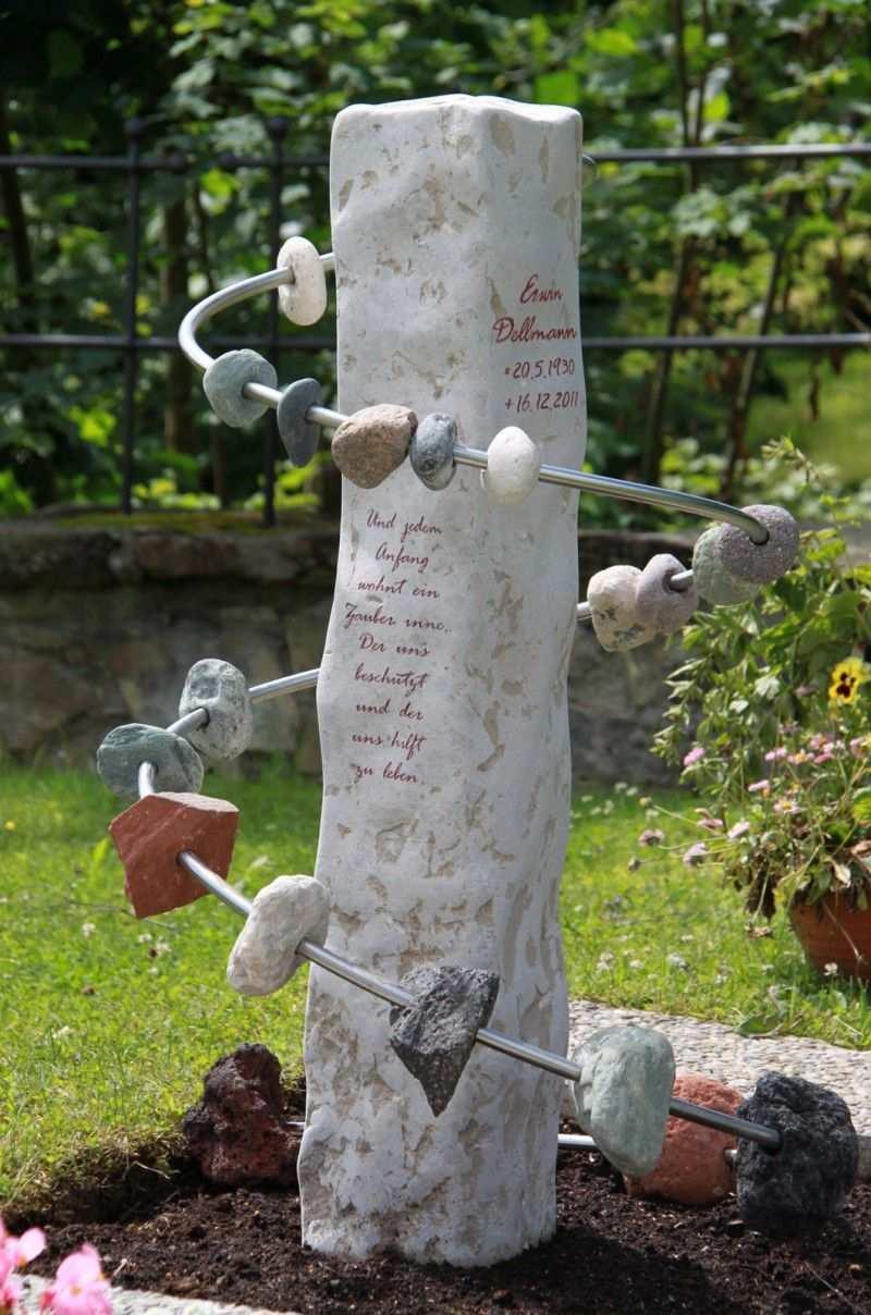 Handwerkliche Grabsteine Steinmetz Herbert Baldauf Immenstadt Allgau Grabstein Grabgestaltung Urnengrabsteine