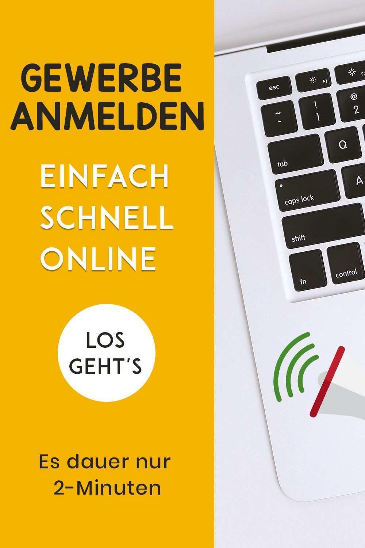 Gewerbe Anmelden Online Dein Gewerbe Richtig Anmelden In 2020 Gewerbeanmeldung Gewerbe Kleingewerbe