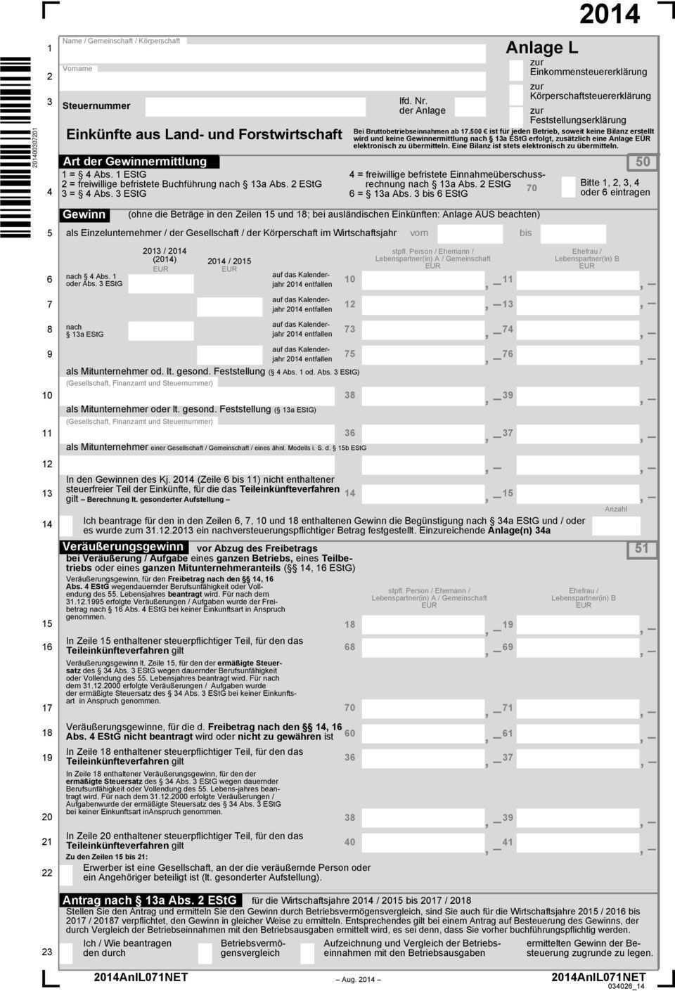 4 Freiwillige Befristete Einnahmeuberschussrechnung 2 Freiwillige Befristete Buchfuhrung Nach 13a Abs 2 Estg Pdf Kostenfreier Download