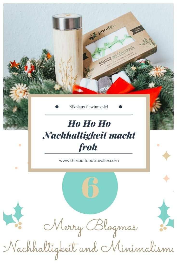 Nachhaltiges Gewinnspiel Zum Nikolaus The Soulfood Traveller Gewinnspiel Nachhaltigkeit Nikolaus