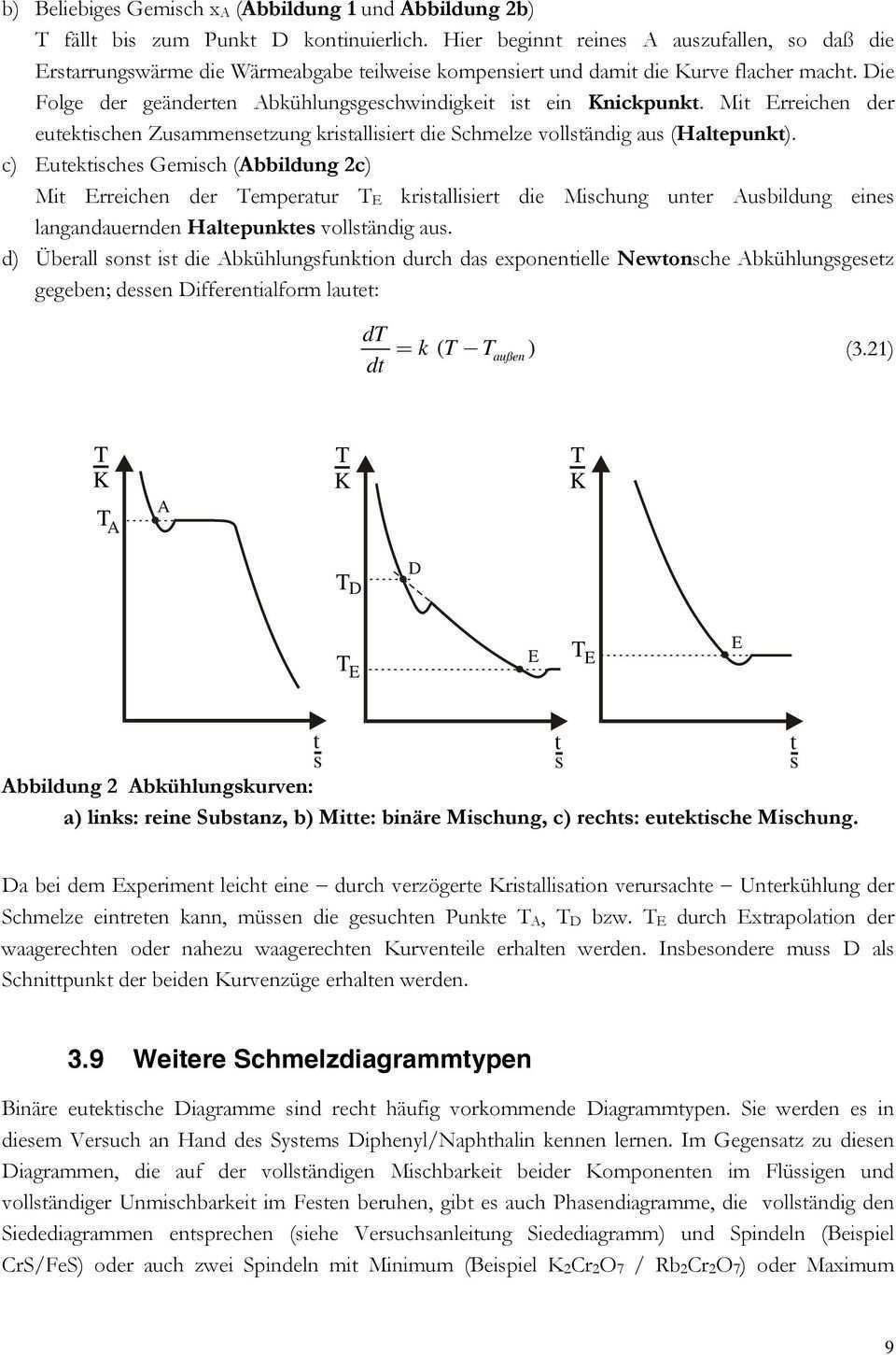 Erstellen Von Binaren Schmelzdiagrammen Flussig Fest Phasendiagrammen Aus Abkuhlungskurven Pdf Free Download