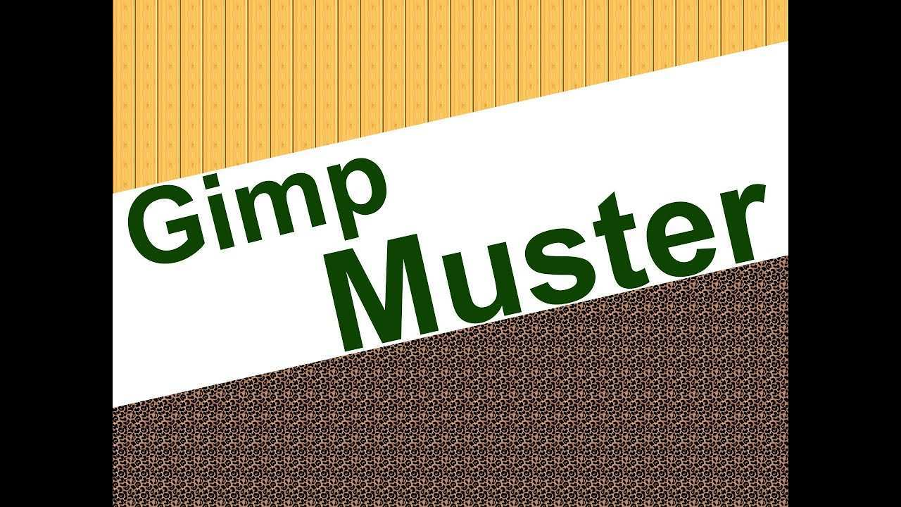 Gimp Muster Youtube