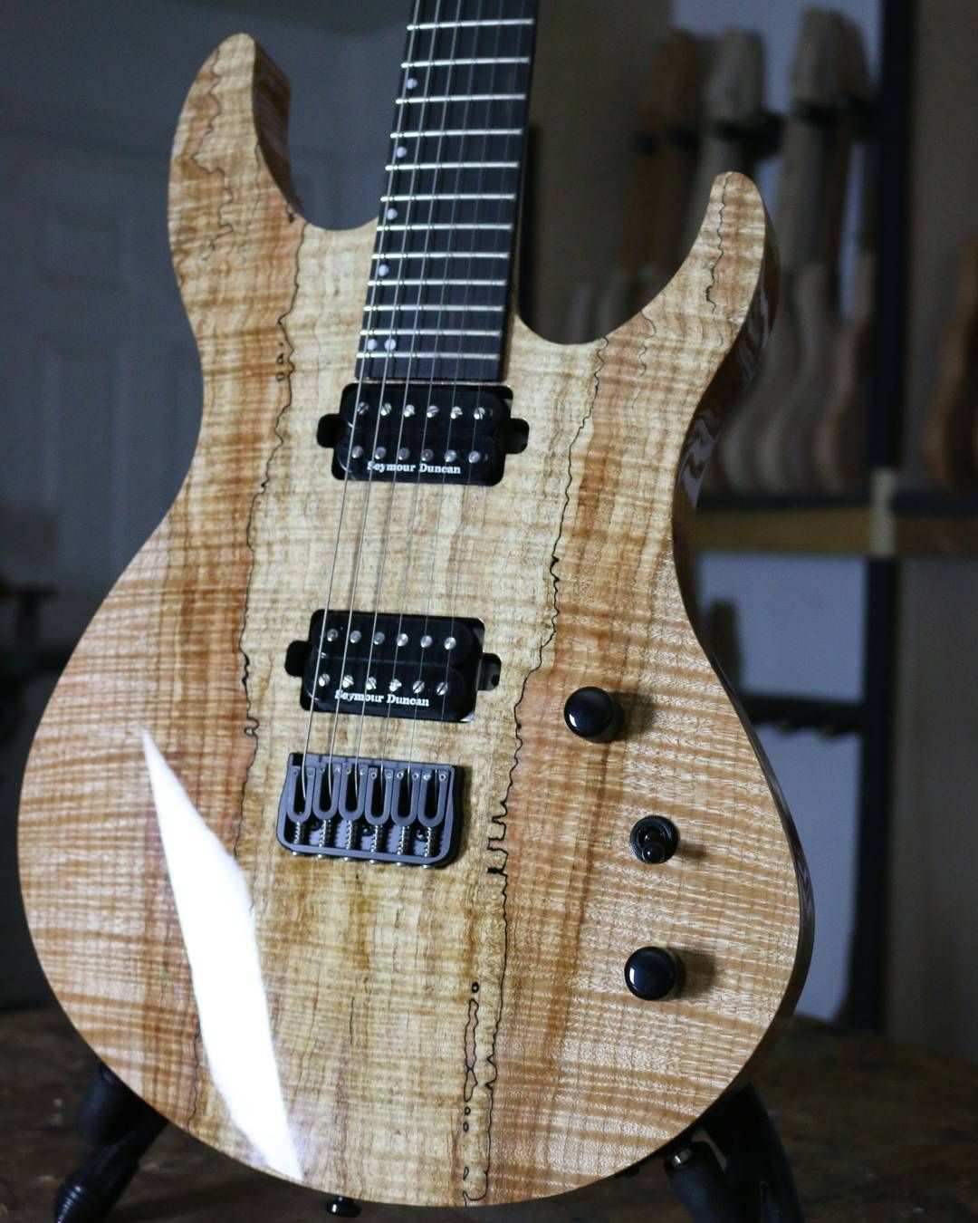 504 Likes 2 Comments Acacia Guitars And Basses Acaciaguitars On Instagram Incredible Top On This Romulus 6 From Namm17