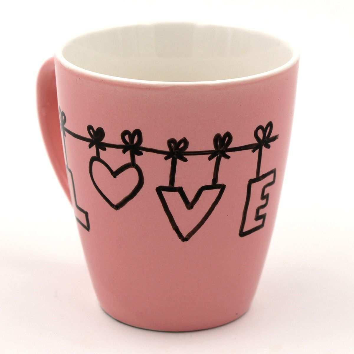 Tassen Bemalen Kreative Ideen Und Vorlagen Fur Das Tassen Selbst Gestalten