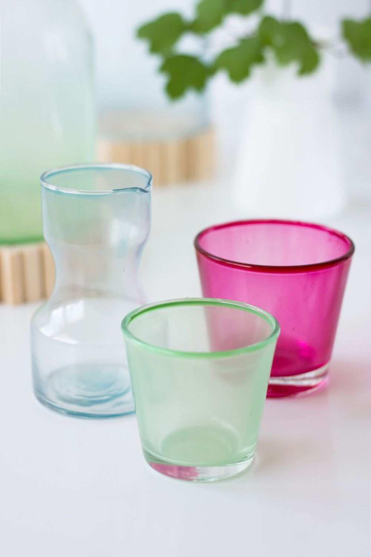 Gastblogger Diy Glas Mit Lebensmittelfarbe Einfarben We Love Handmade Lebensmittelfarbe Naturlich Dekorieren Gefarbtes Glas