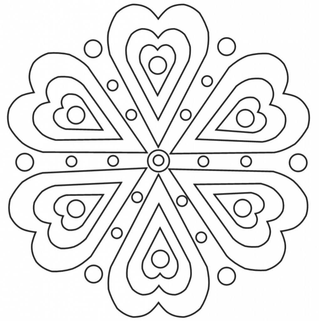 Mandala 16 Ausmalbilder Mandala Ausmalen Mandala Malvorlagen