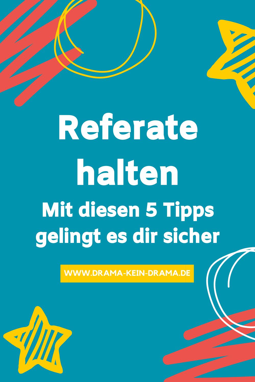 So Haltst Du Erfolgreiche Referate In 2020 Hausarbeit Studieren Germanistik