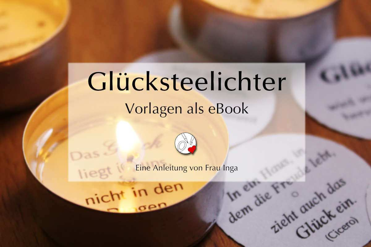 Gluckskerzen Zu M Verschenken Ebook Mit 40 Vorlagen