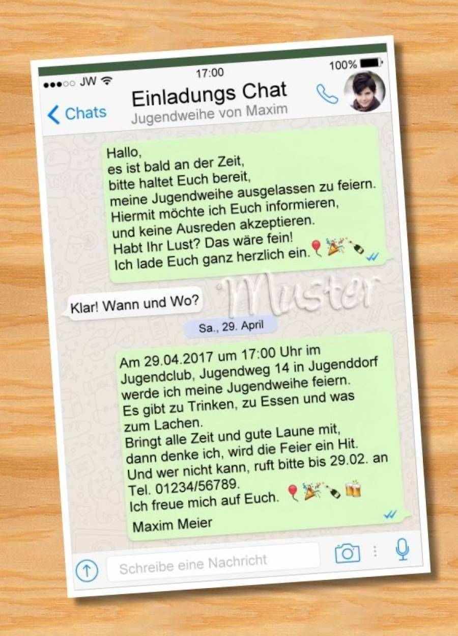 Einladungskarten Jugendweihe Geburtstag Einladung Vorlage Einladung Geburtstag Text Einladung Geburtstag