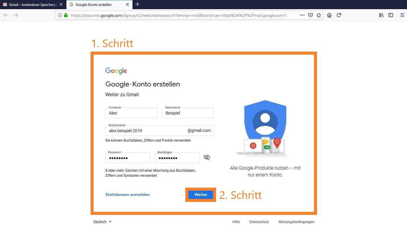 Gmail Konto Erstellen So Geht S Chip