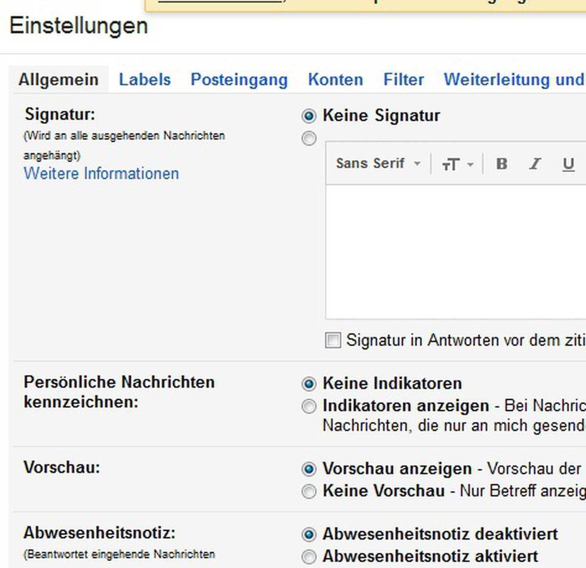 Gmail So Erstellen Sie Eine Signatur Chip