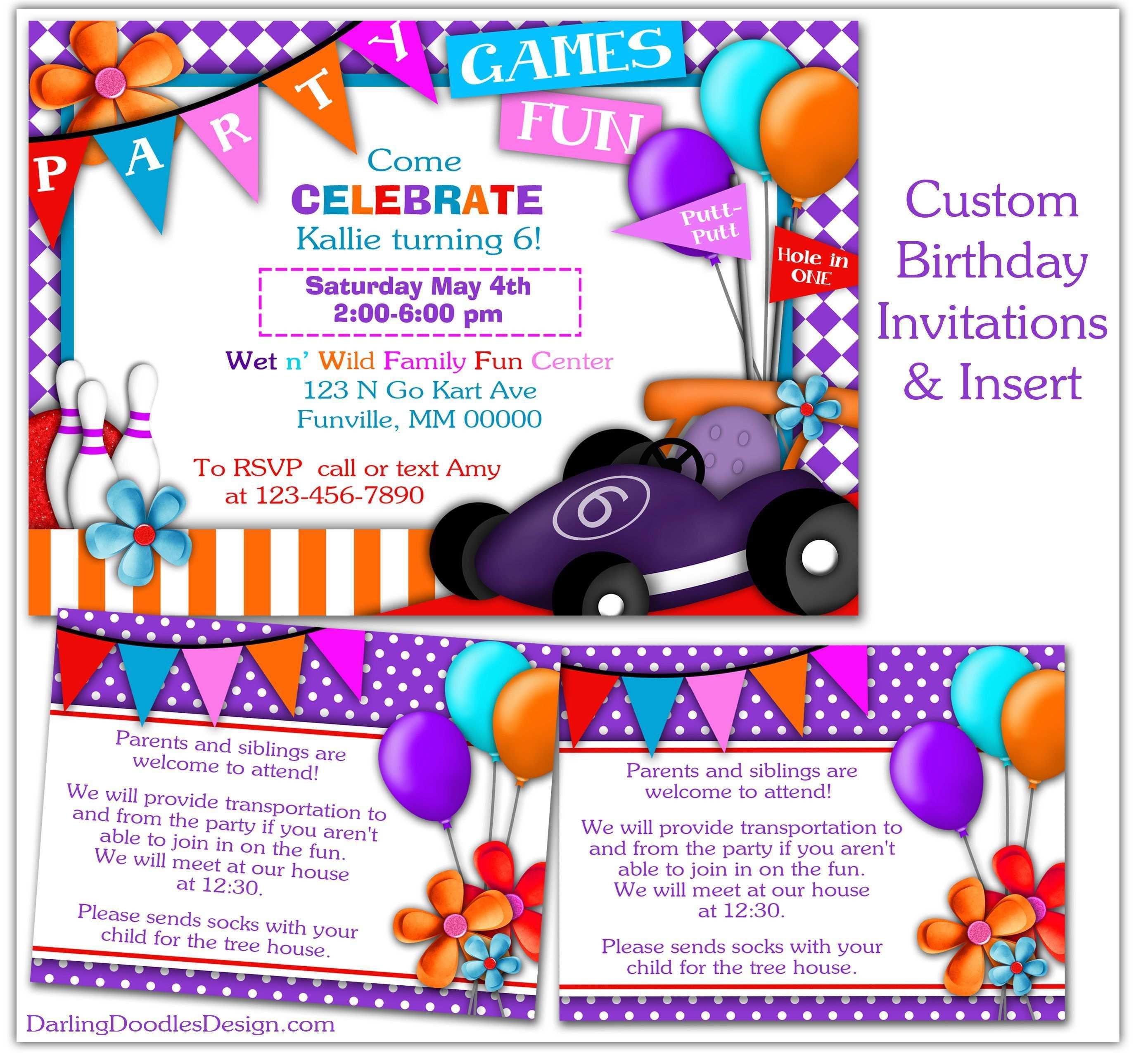 Einladung Kostenlos Kartfahren Geburtstagseinladungen Zum Ausdrucken Einladungen Geburtstagseinladungen