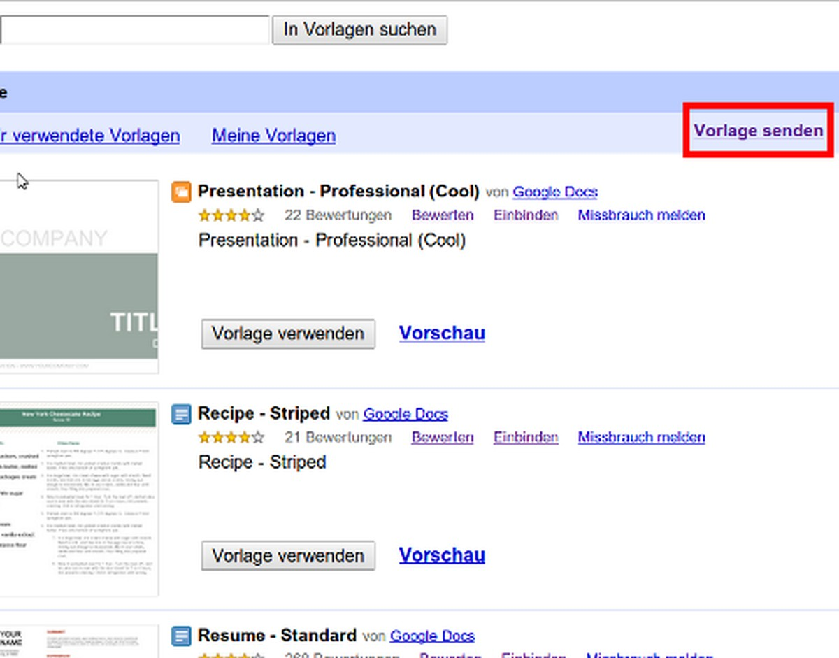Vorlagen In Google Drive Erstellen So Geht S Chip