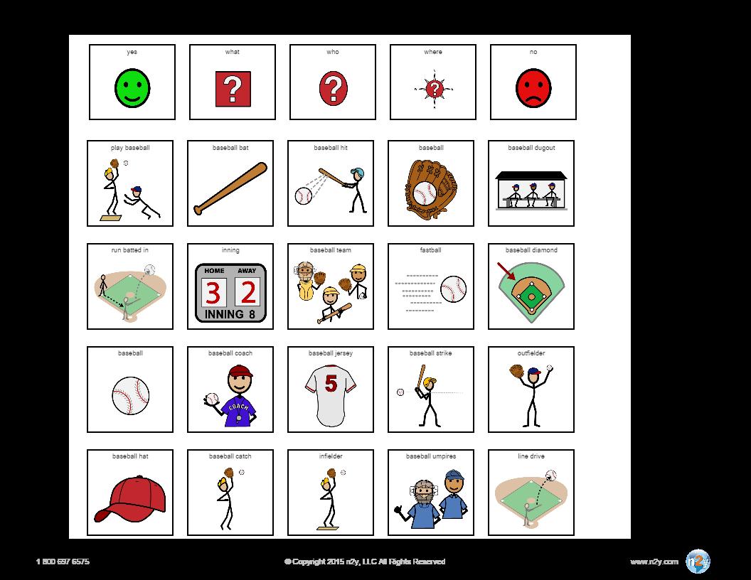 Gotalk 20 Template In Symbolstix Online Templates Symbols Learning