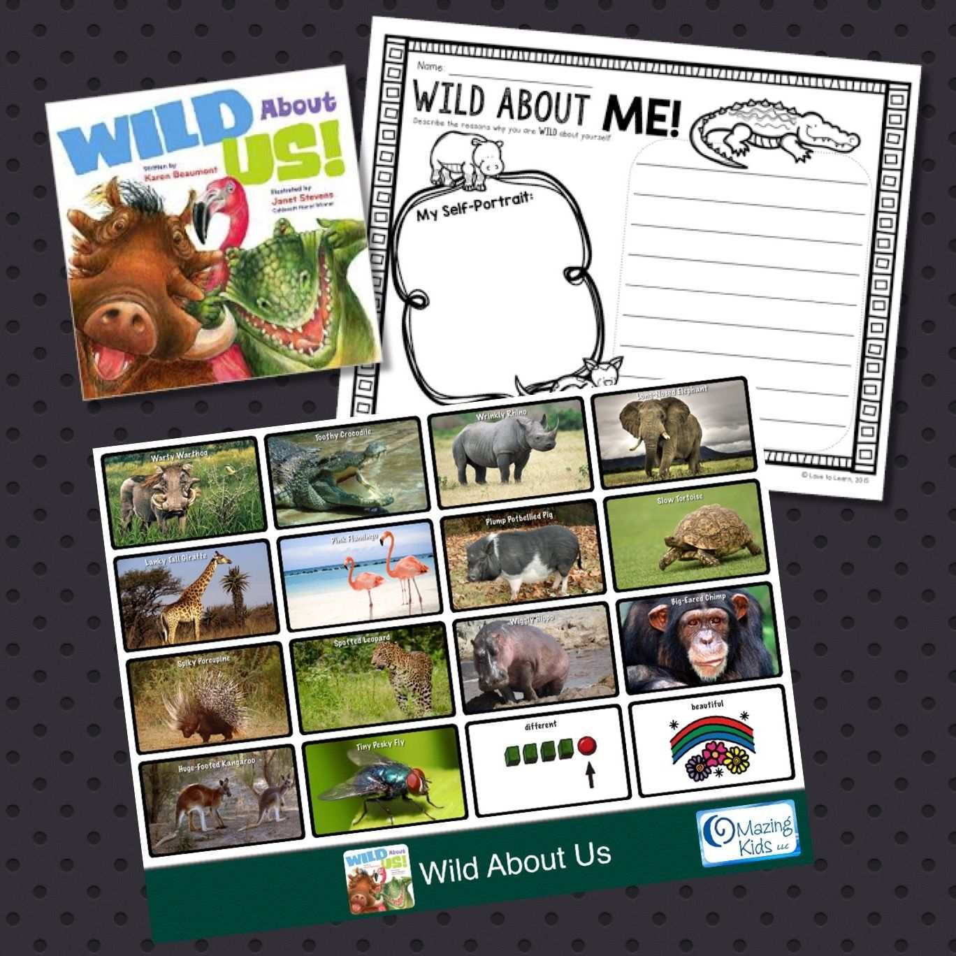 Book Aac Wild About Us And The Gotalk Now Plus Aac App Kids Speech Therapy Books This Is Us