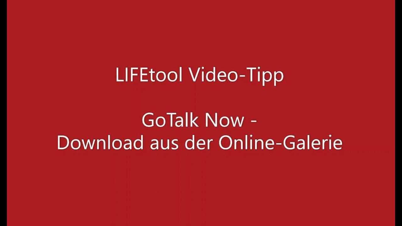 2020 05 Vorlagen In Der Gotalk Now App 2020 Lifetool