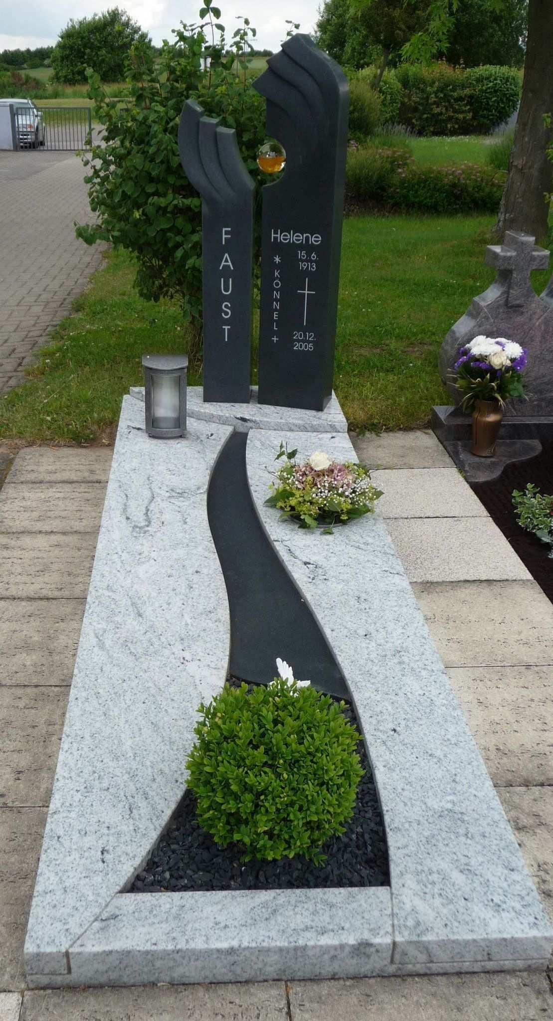 Einzelgrab Grabmale Stucky Heltersberg Grabsteine In 2020 Friedhofs Dekorationen Grabgestaltung Grabbepflanzung Herbst