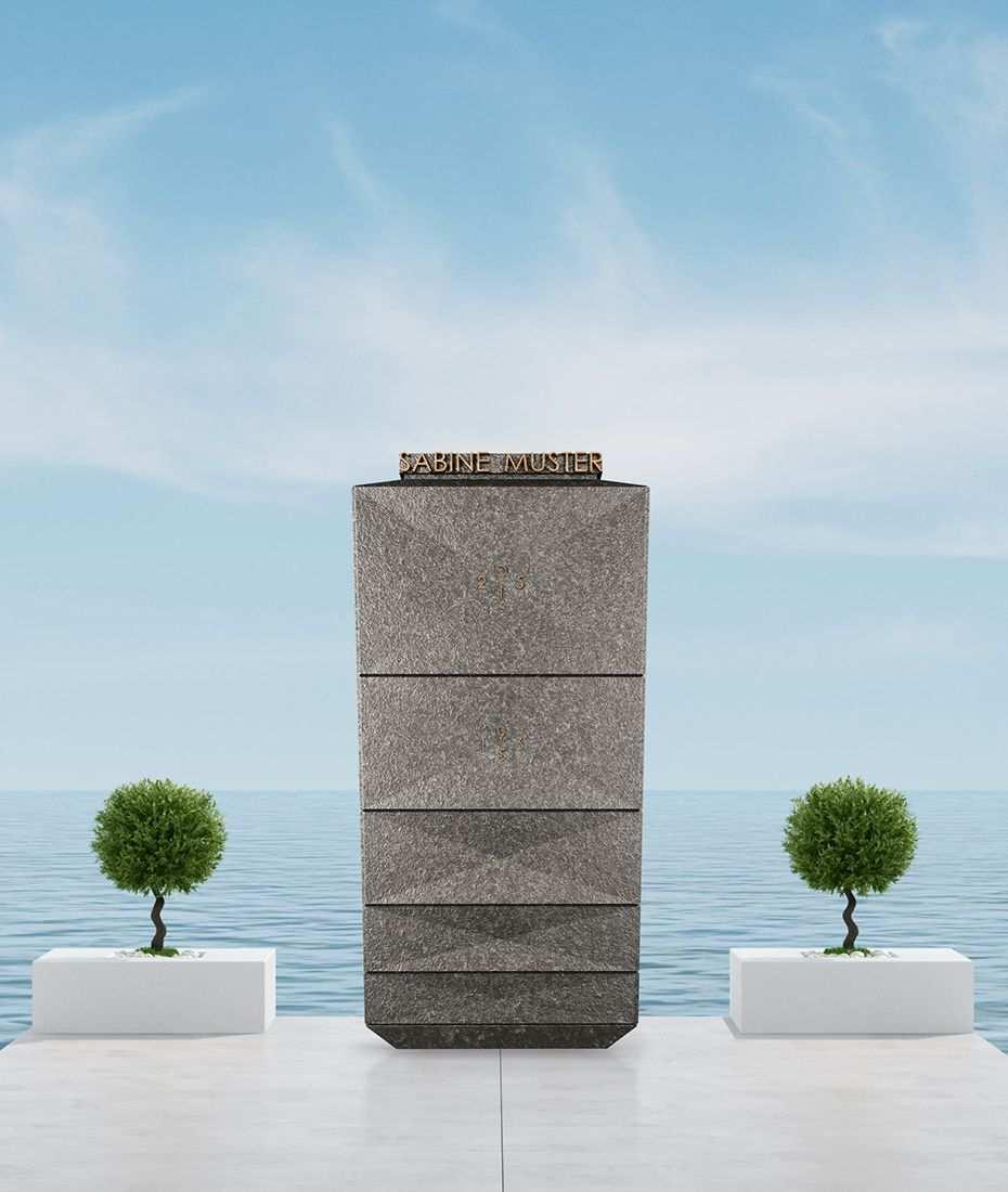 Grabstein Modell Columba Naturstein Granit Nero Assoluto Modernes Design By Designwerk Daniel Schnettka Granit Nero Assoluto Design Natursteine