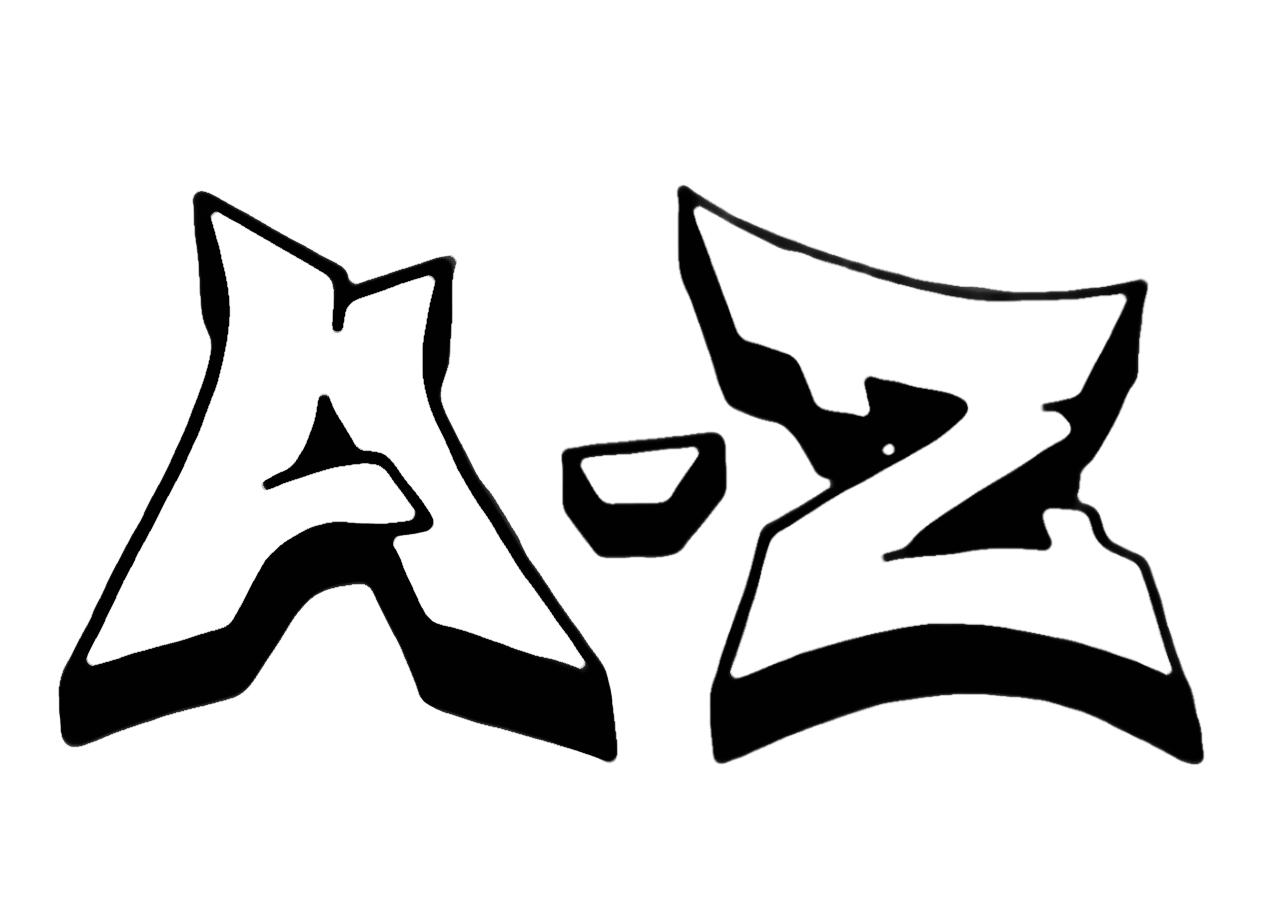 Graffiti Buchstaben A Z Graffiti Buchstaben Graffiti Schrift Graffiti Alphabet
