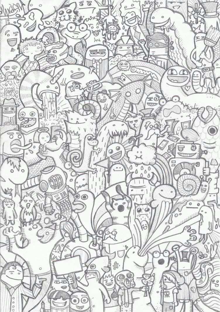 Pin Von Johannes Auf Doodles Kritzel Zeichnungen Graffiti Bilder Malbuch Vorlagen