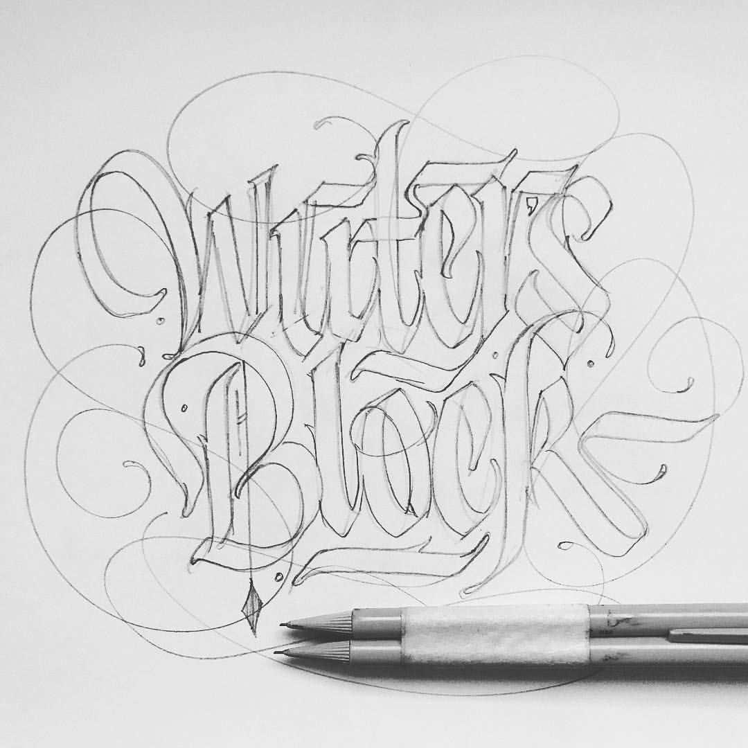Writer S Block Graffiti Lettering Chicano Lettering Graffiti Alphabet