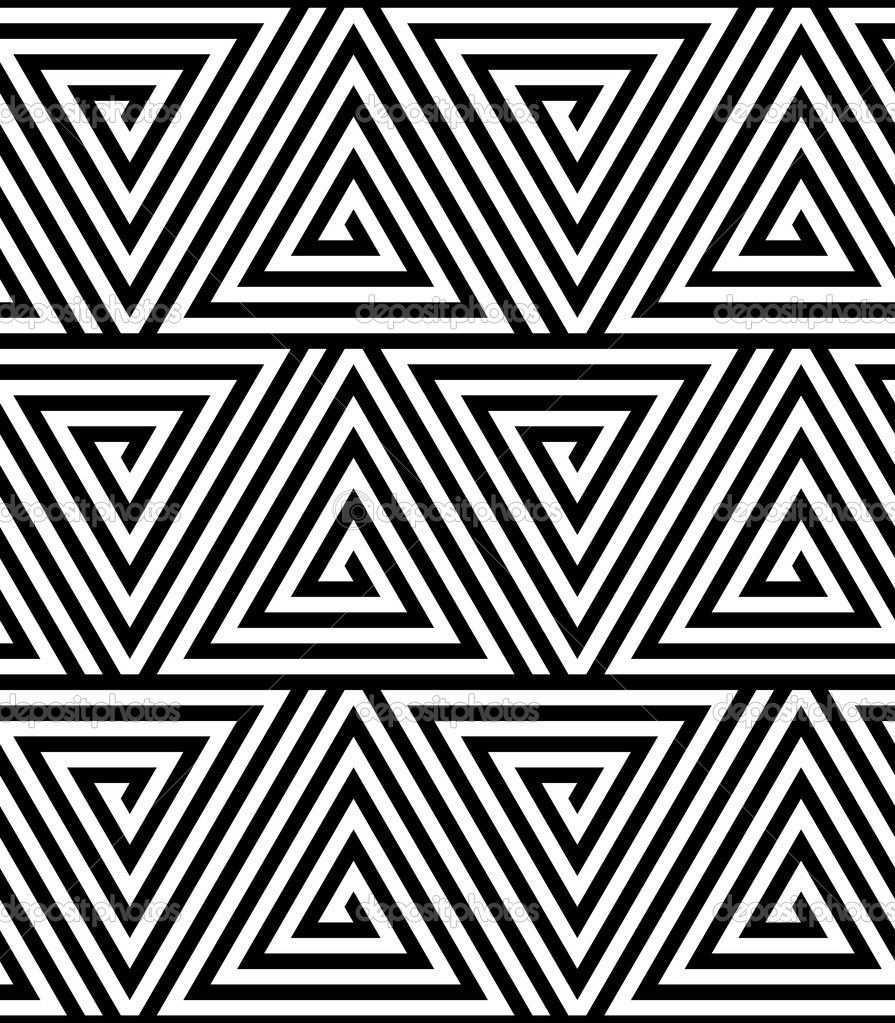 Geometric Patterns Black And White Pesquisa Google Geometric Patterns Coloring Simple Optical Illusions Geometric Pattern