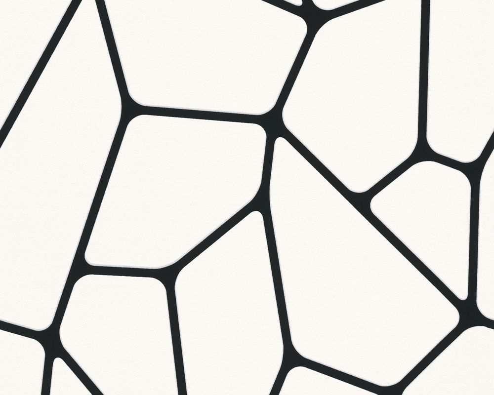 Livingwalls Tapete 255266 Abstrakte Tapete Tapeten Graphische Muster