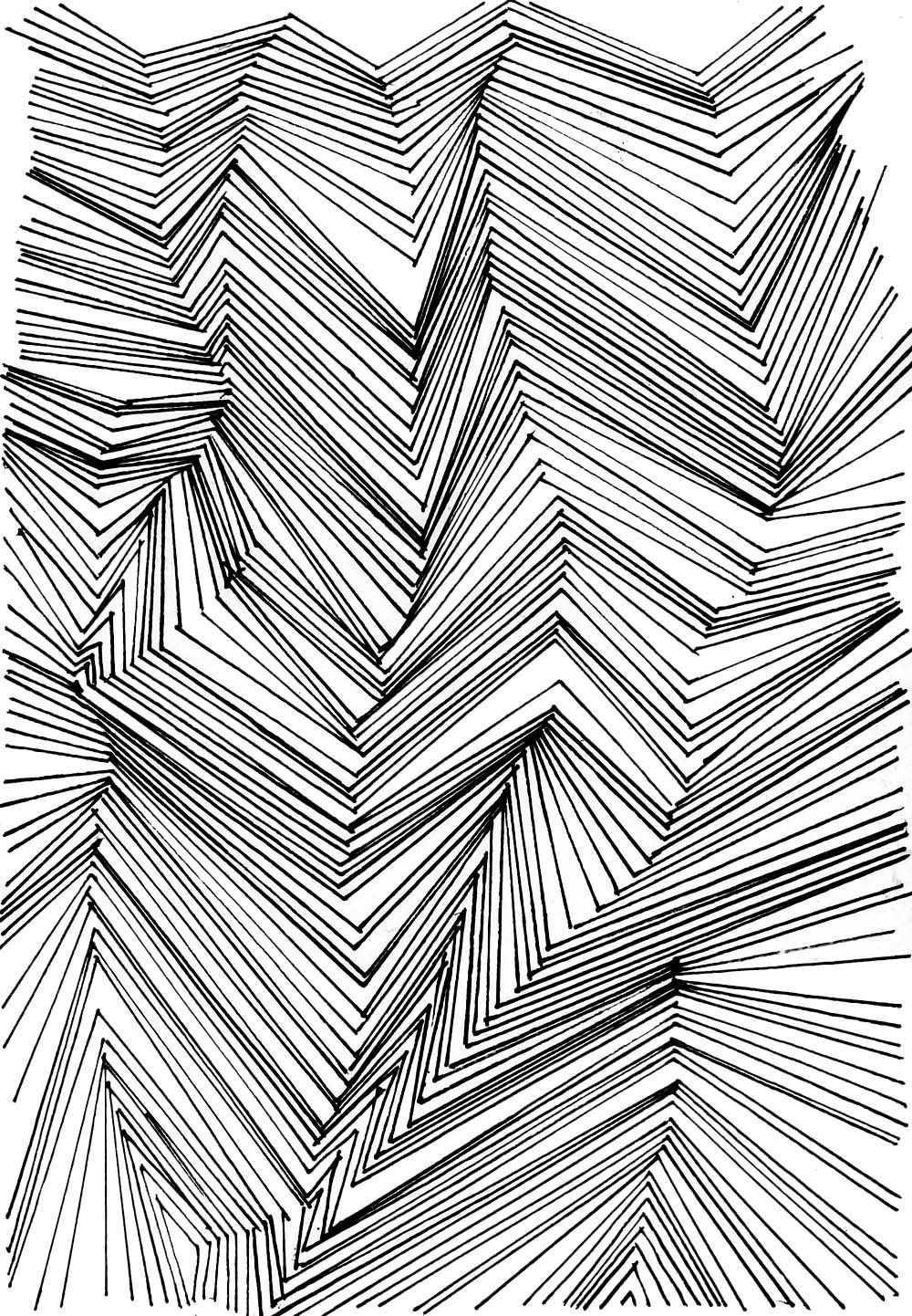 Muster Zeichnen Meditativ Oder Einfach Nur Langweilig Hermine On Walk Muster Malen Muster Zeichnung Zeichnen