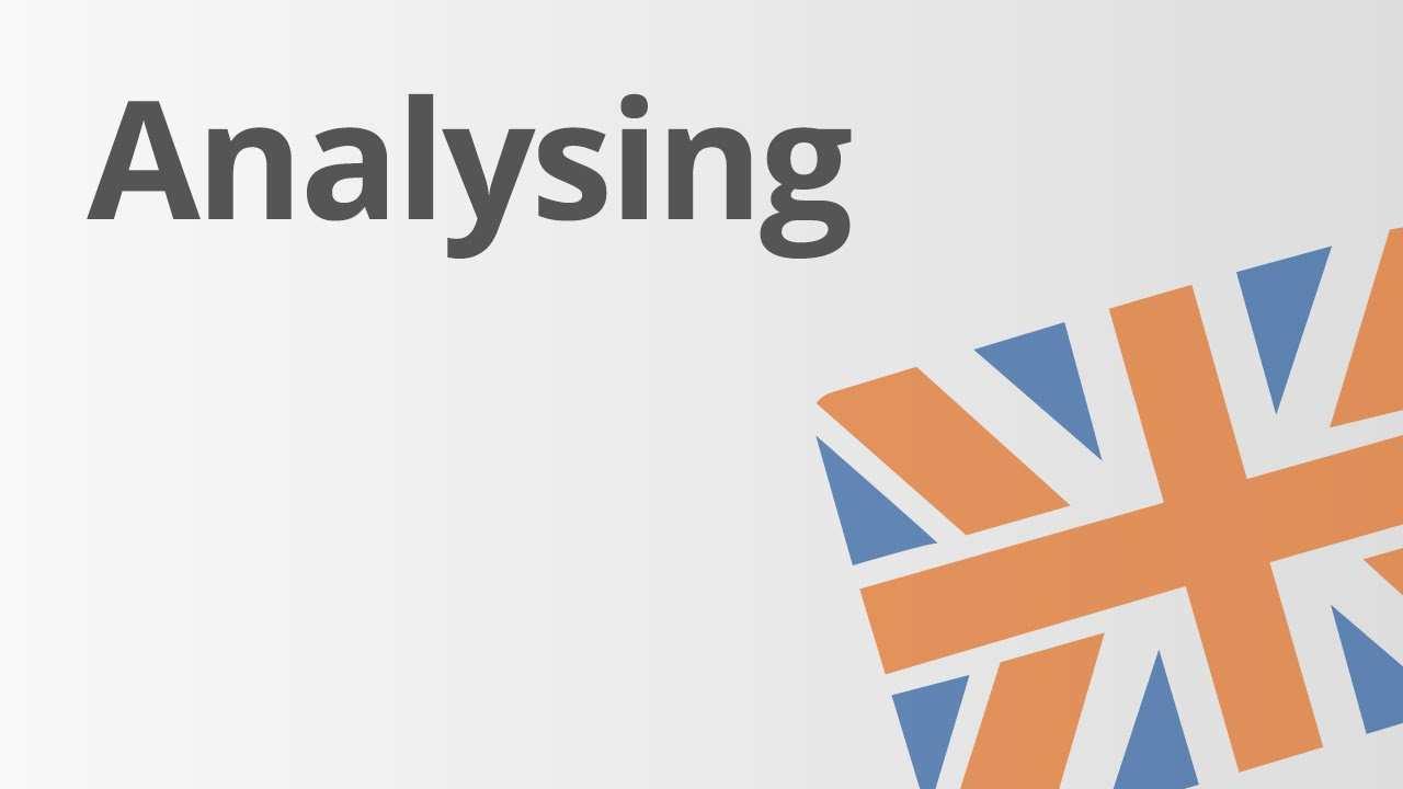 Die Analyse Von Grafiken Diagrammen Und Statistiken Im Englischen Englisch Youtube