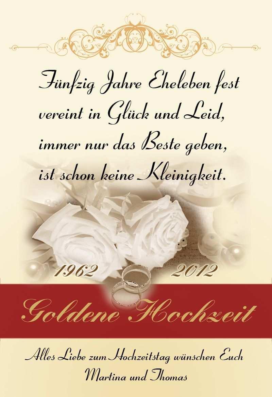 Schone Spruche Goldene Hochzeit Goldene Hochzeit Schone Spruche Funny Wedding Cards Free Wedding Unique Wedding Invitations