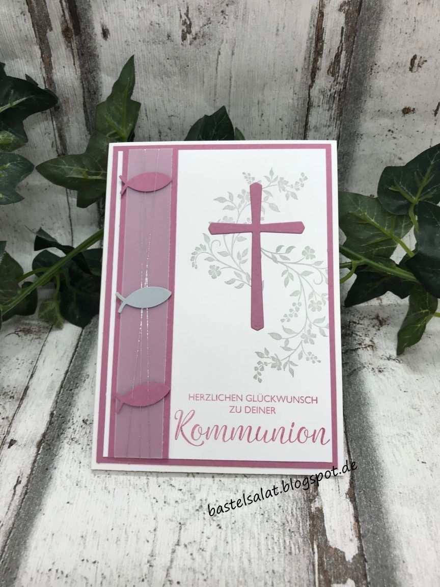 Gluckwunsche Zur Kommunion Karten Kommunion Konfirmation Karten Geburtstagskarte Diy