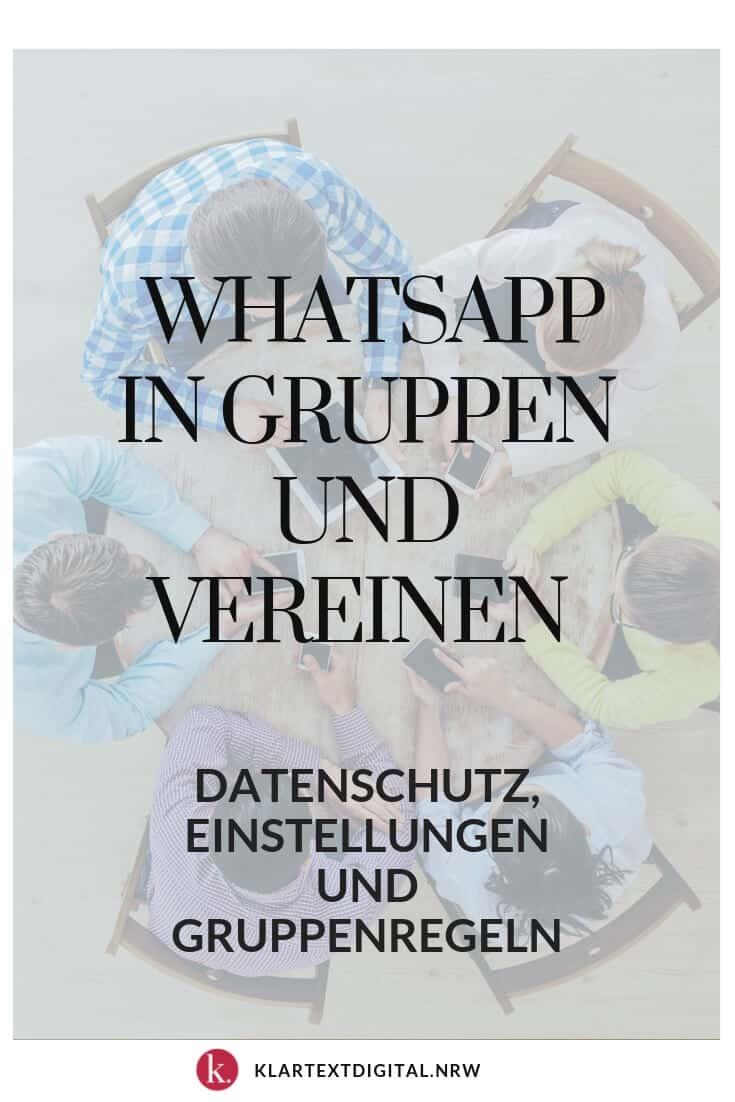 Wie Wir Whatsapp In Gruppen Und Vereinen Nutzen Klartext Digital