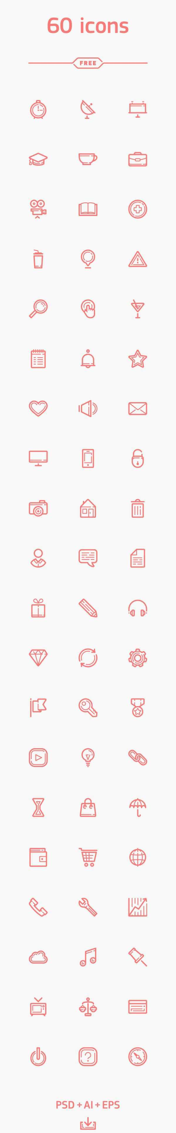 Free Icons For Web And User Interface Design 65 Icon Design Kostenlose Icons Screendesign